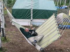 backyard(0.0), outdoor play equipment(0.0), wing(0.0), net(0.0), leisure(1.0), swing(1.0), hammock(1.0), tent(1.0),