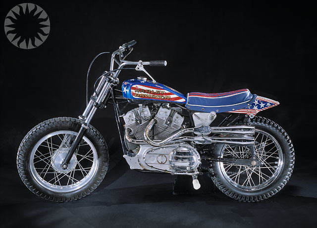 Evel Knievel Harley Davidson Chopper Photograph By Frank: Evel Knievel's Motorcycle