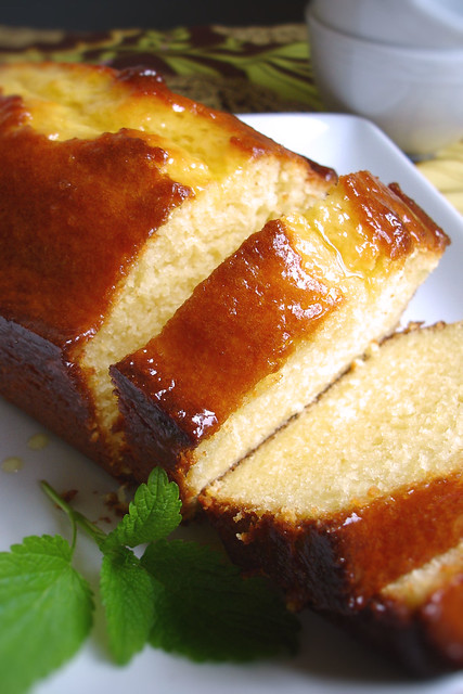 Yogurt Cake with marmalade glaze | a simple pound cake type ...