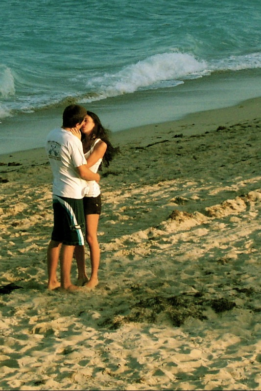 Kisses on the Beach