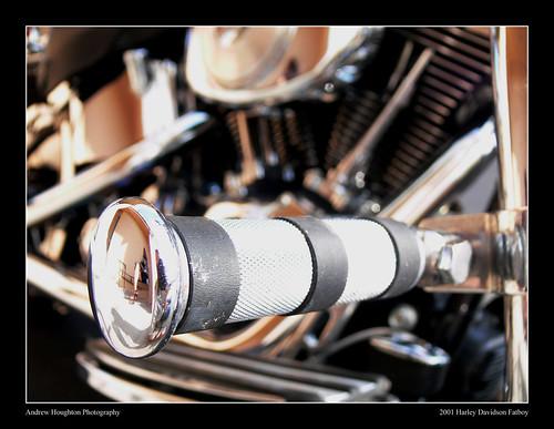 Harley Davidson 2001 Fatboy Front Footrest