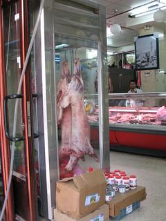 Image of Herod's Gate. israel palestine muslim jerusalem meat butcher lamb quarter carne muslimquarter carcass occupied oldcity opt halal carcase occupiedterritories views50 views100 views75 hoyasmeg