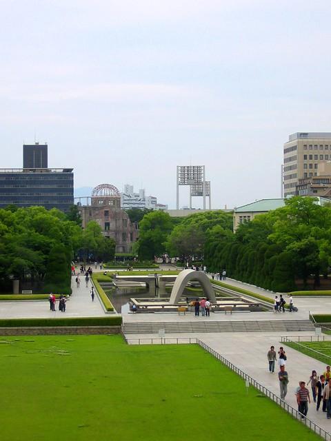 Hiroshima Peace Memorial Park  Flickr - Photo Sharing!