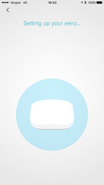 eero iOS App - Setup - #8