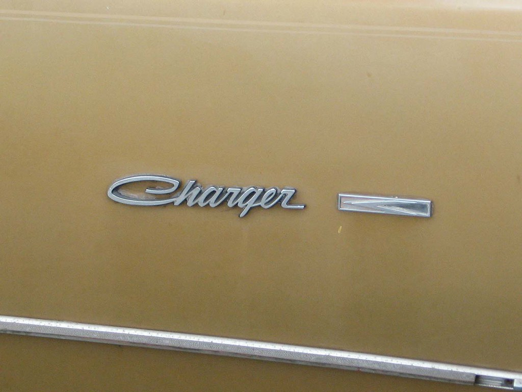 1974 Dodge Charger SE - Charger badge