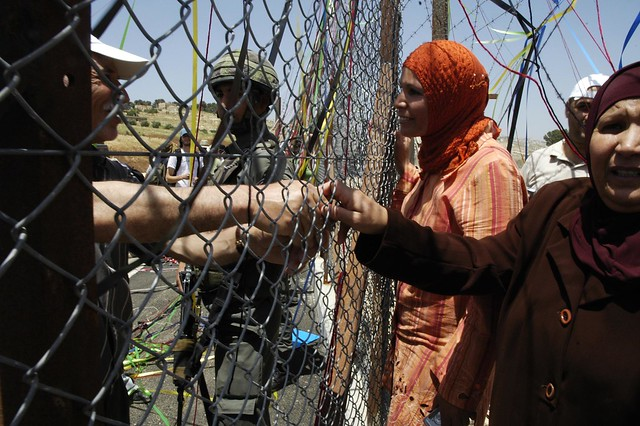 separated by the apartheid barrier