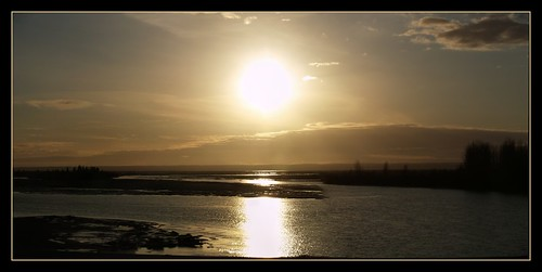 panorama usa sun reflection water alaska bravo northamerica matanuskariver naturesfinest supershot specland