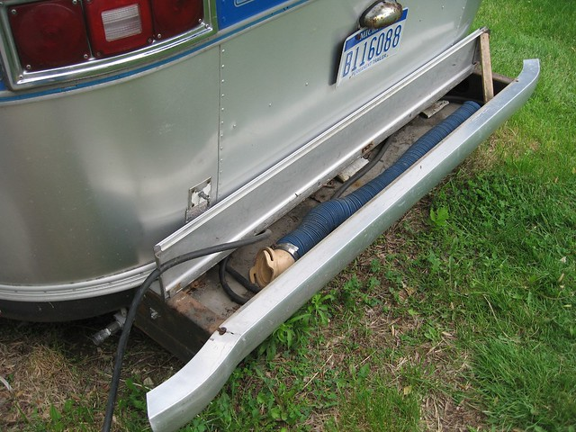 Travel Trailer Bumper Reinforcement Brackets