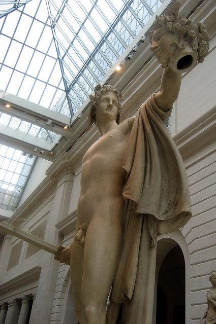 Nyc Metropolitan Museum Of Art Perseus With The Head