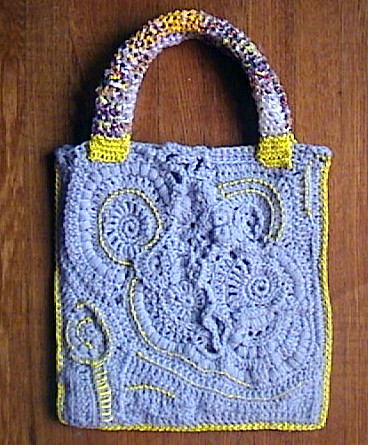 How to Crochet a Tote Bag From Plastic Grocery Bags | eHow.com