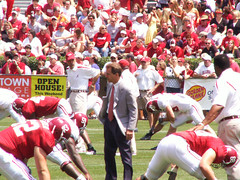 Nick Saban A-Day 2007