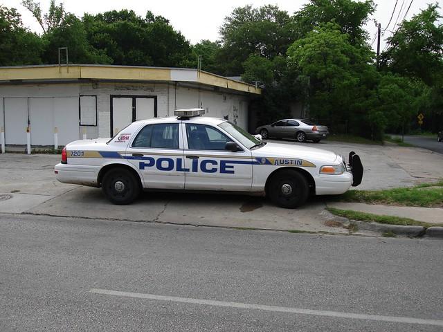 Austin Police Cruiser
