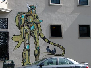 New Doze Green Mural