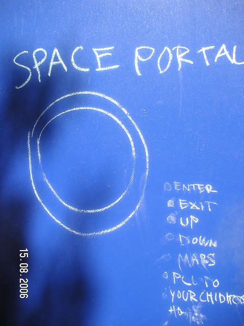 space portal!