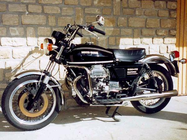 The Moto Guzzi California