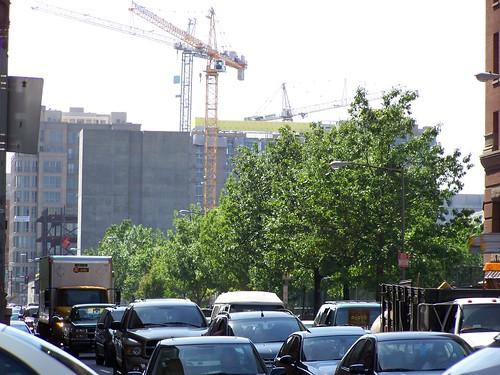 Cranes downtown