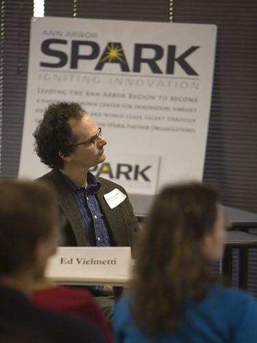 Seth Godin event, social media expert and guru Ed Vielmetti of Pure Visibility