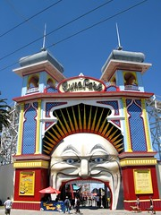 LUNA PARK - The Big Open Mouth Entrance