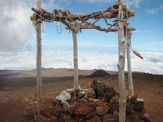 Shrine on Summit of Mauna Kea