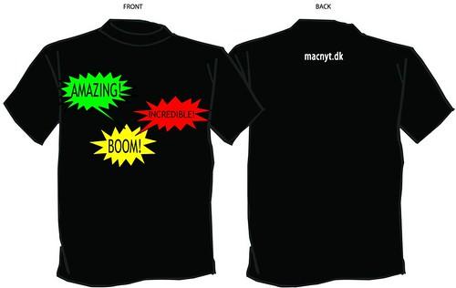 Macnyt T-Shirt - BOOM