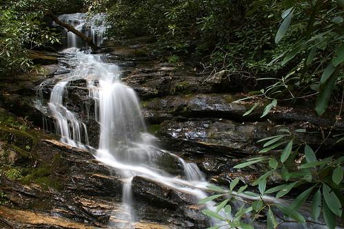 georgia waterfall chattahoocheenationalforest rabuncounty beckybranchfalls