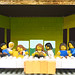 copia d'arte Lego - the last supper -ultima cena- Leonardo da Vinci
