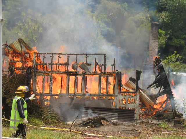 Burned Down House
