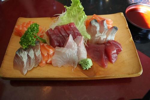 always sashimi