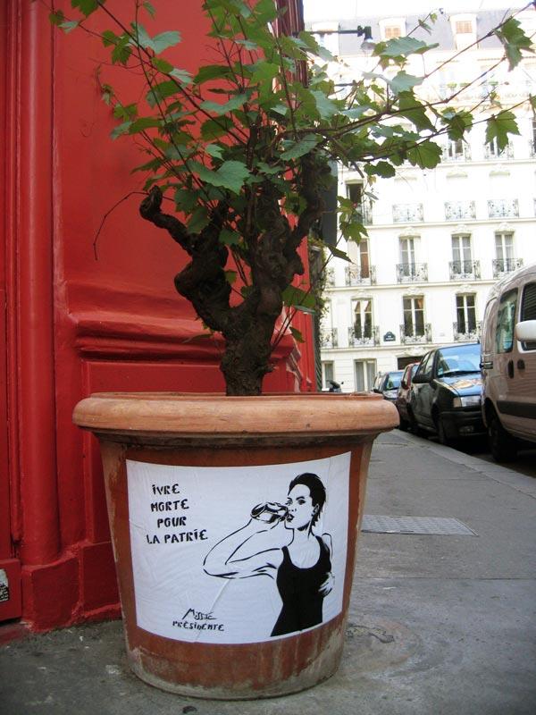 Le paris de photigule campagne pr sidentielle 11 - Pied de vigne en pot ...