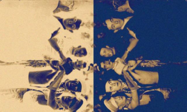seis hombres bailando