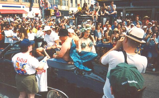 Mermaid Parade 2001 Coney Island - Surf & Turf