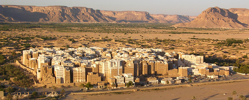 yemen shibam hadramawt hadramaout geo:dir=30 geo:lon=48622253 geo:lat=15921805