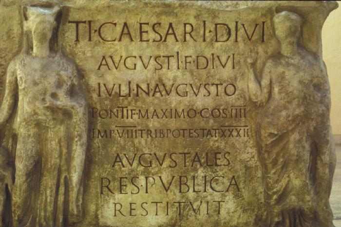 Tiberius Caesar  inscription