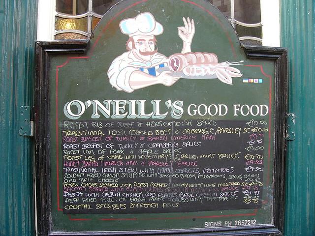 O Neills Pub Restaurant  Washington St Salem Ma