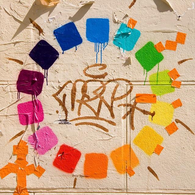 Cercle chromatique rue chappe 18 flickr photo sharing - Cercle chromatique peinture ...
