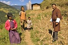 Chomolhari-Zelt-Trekking Bhutan.