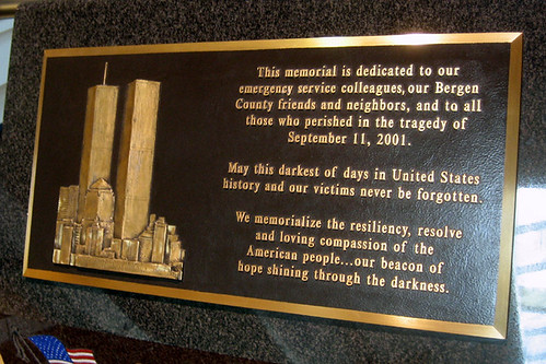 Garden State Plaza 9/11 Memorial
