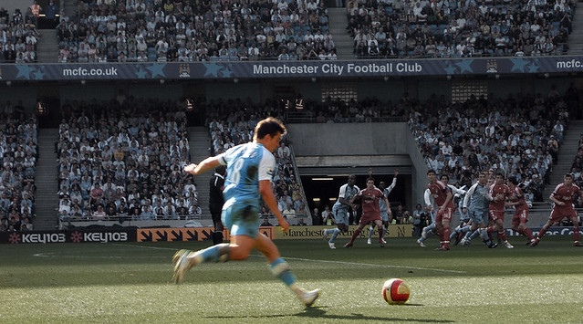 Manchester City vs Liverpool, Fujifilm FinePix F455