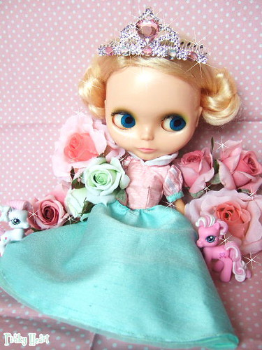Princess Blythe with rose