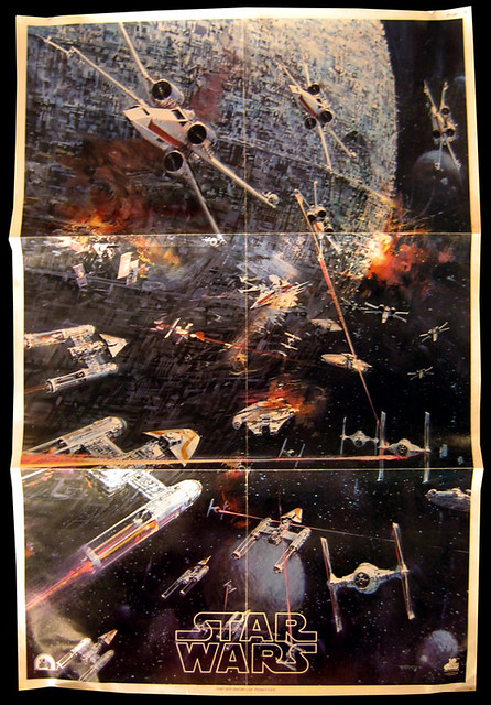Star Wars Record Album Poster