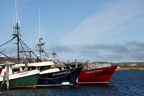 Montauk Fishing Fleet by Alida's Photos