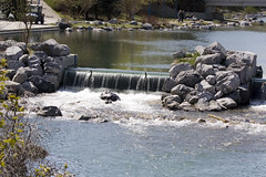 Waterfall at Prince's Island (II)
