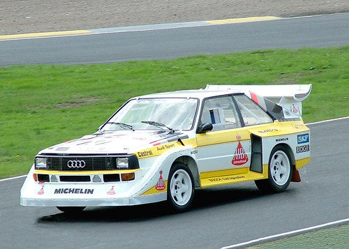 Audi Quattro Grp B Rally Car Knockhill