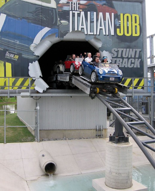 Italian Job Stunt Track Flickr Photo Sharing