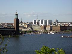 View from Skinnarviksberget, Stockholm