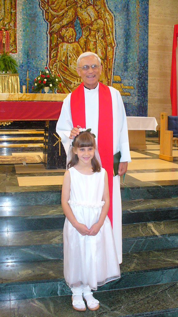 Izzy and Father Karg