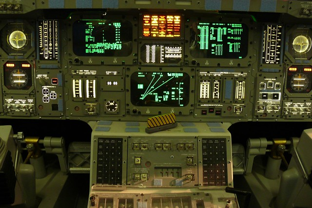 Space Shuttle Control Panel   Flickr - Photo Sharing!