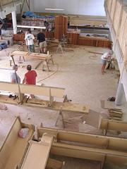 floor, wall, wood, room, carpenter, factory,
