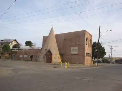 Globe, Arizona teepee building