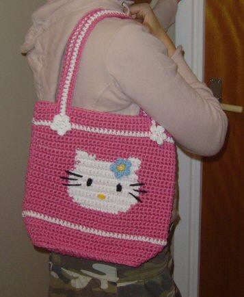 Crochet Purse Patterns Hello Kitty : HELLO KITTY CROCHET PATTERN PURSE ? Free Crochet Patterns